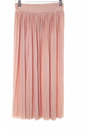 Object Pleated Skirt dusky pink romantic style