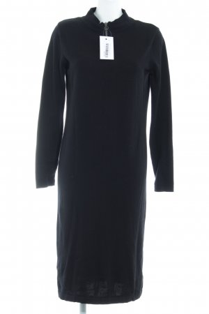 Object Pulloverkleid schwarz Casual-Look