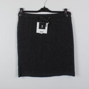 Object High Waist Skirt grey mixture fibre