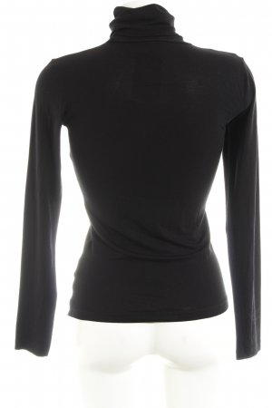 Object Colshirt zwart klassieke stijl