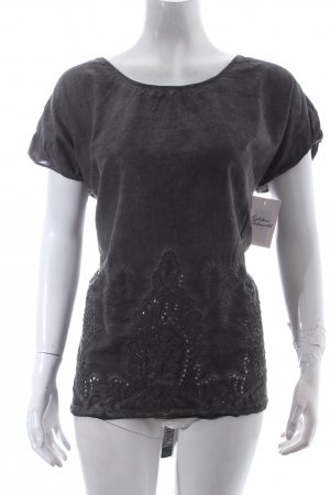 Object Shirt grau Casual-Look