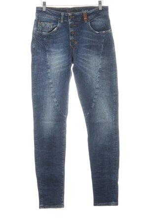 Object Slim Jeans blau Casual-Look