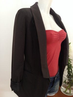 Object Smokingblazer antraciet Polyester
