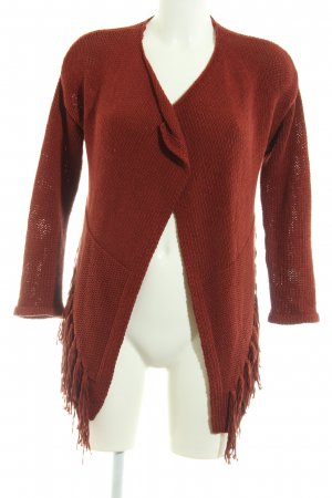 Object Strick Cardigan rot Casual-Look