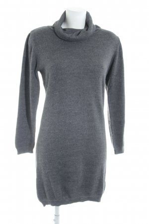 Object Strickkleid grau Casual-Look