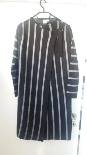 Object Gebreide jas zwart-lichtgrijs