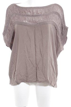Object T-Shirt graubraun Boho-Look