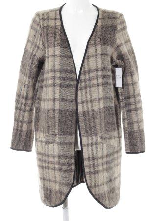 Object Between-Seasons-Coat check pattern casual look