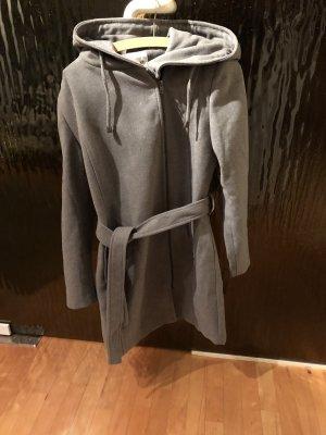 Object Manteau en laine gris