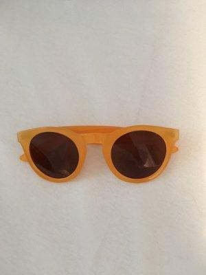 OCEANO Retro Glasses gold orange