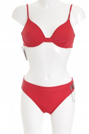 OCEANO Bikini rosso stile atletico