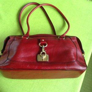 Etienne Aigner Sac porté épaule rouge framboise
