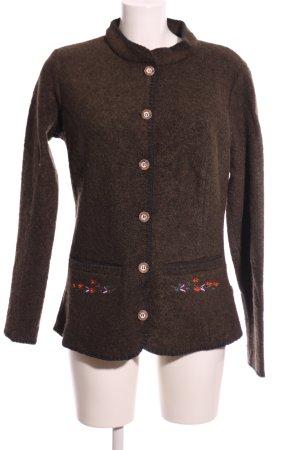 OCK Outdoor Casual Khaki Traditional Jacket brown flecked casual look