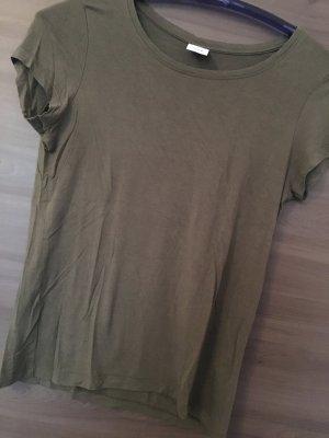 Ocker Farbendes T-Shirt