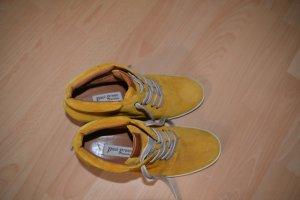 Ockerfarbene Paul Green Schuhe
