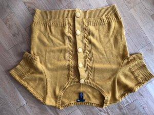 H&M Jersey de manga corta amarillo oscuro