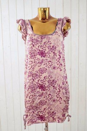 ODD MOLLY Damen Kleid Hängerchen Seide Rosé Brombeere Powder Mauve Träger Gr1/36
