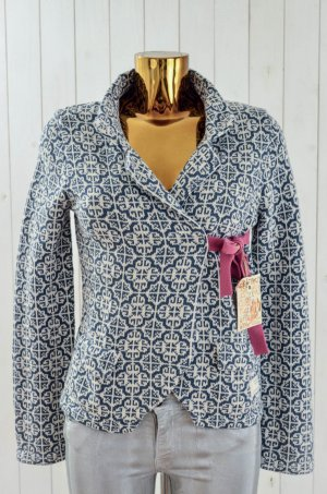 ODD MOLLY Damen Strickjacke LOVELY KNIT CARDIGAN Indigo Cotton Gr. 4