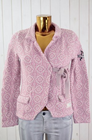 ODD MOLLY Damen Strickjacke LOVELY KNIT CARDIGAN Rosa Ecru Cotton Gr. 1/36
