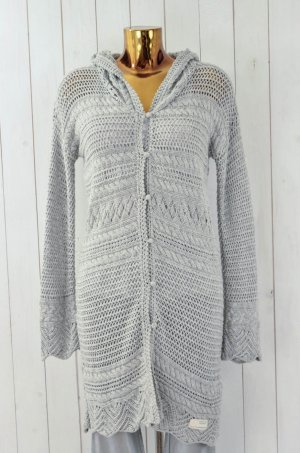 ODD MOLLY Damen Strickmantel Mod. Split Eagle Hood Cardigan Grobstrick Gr.1/36