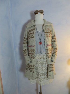 Odd Molly Knitted Coat multicolored new wool