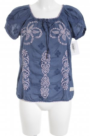 Odd Molly Kurzarm-Bluse blau Casual-Look