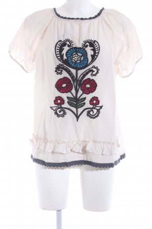 Odd Molly Kurzarm-Bluse Blumenmuster Hippie-Look