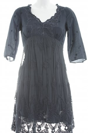 Odd Molly Kurzarmkleid dunkelblau Elegant
