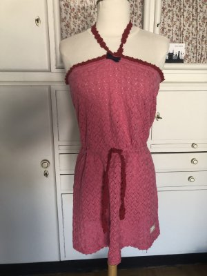 Odd Molly Knitted Dress pink-red cotton