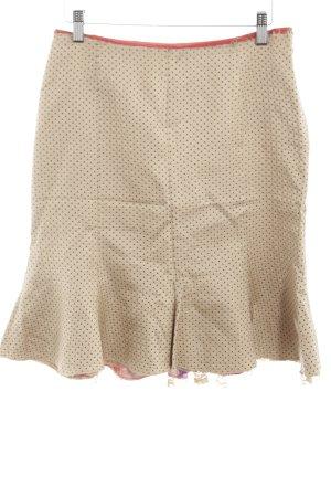 Odd Molly Silk Skirt spot pattern casual look