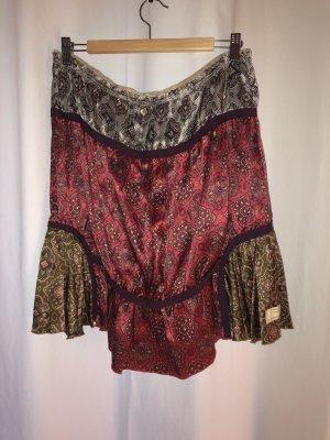 Odd Molly Silk Skirt multicolored silk