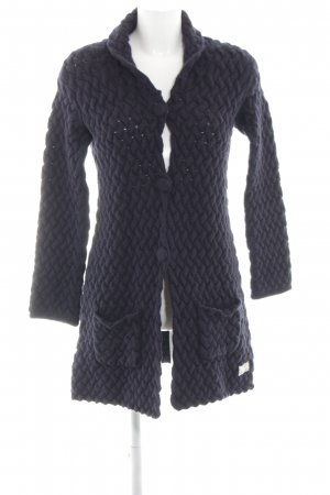 Odd Molly Strick Cardigan lila Zopfmuster Casual-Look