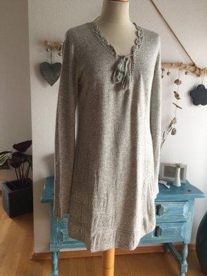 Odd Molly Gebreide jurk zilver