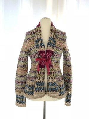 Odd Molly Cache-cœur en tricot multicolore