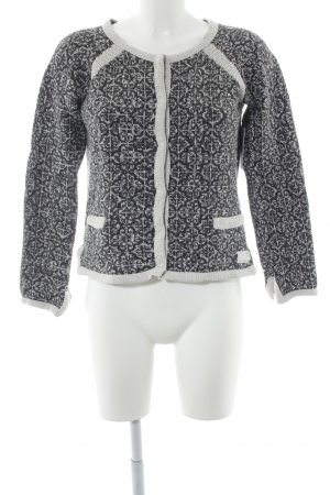 Odd Molly Cardigan natural white-dark grey houndstooth pattern casual look