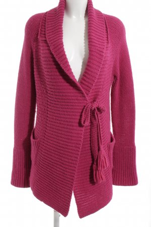 Odd Molly Strickwickeljacke pink Streifenmuster Casual-Look
