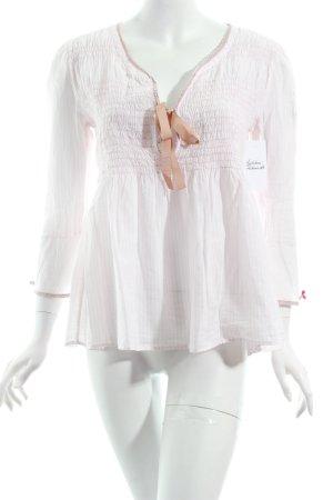 Odd Molly Tunikabluse weiß-beige Street-Fashion-Look