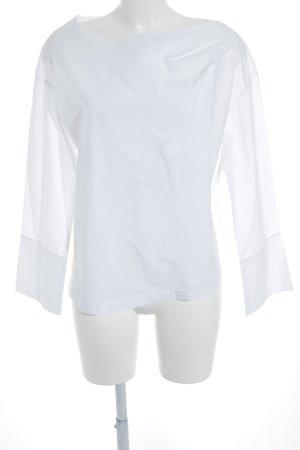 Odeeh Langarm-Bluse weiß Elegant