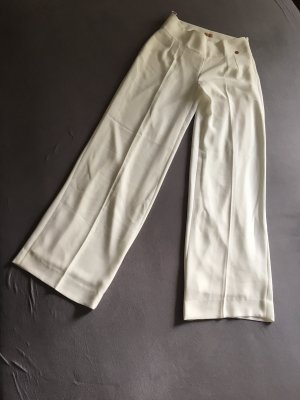 ODEON Marlene Trousers natural white polyester