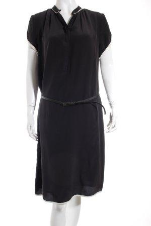ODEON Shirtkleid schwarz-weiß Elegant