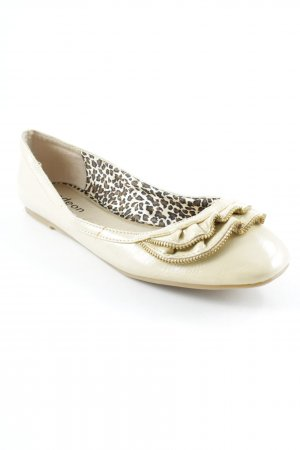 ODEON Slippers gold-colored-nude casual look