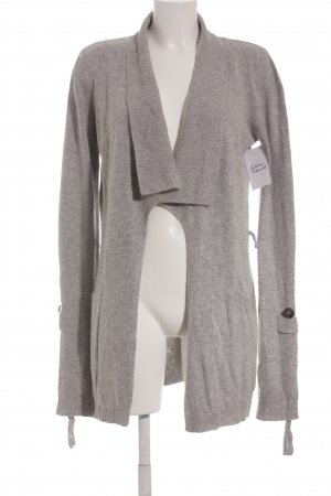 ODEON Strick Cardigan hellgrau Casual-Look