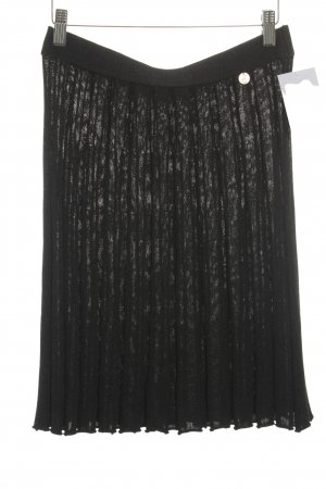 ODEON Knitted Skirt anthracite classic style