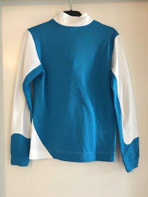 Odlo Shirt wit-blauw