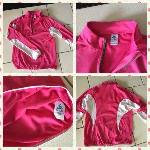 Odlo Sweat Shirt pink-white mixture fibre