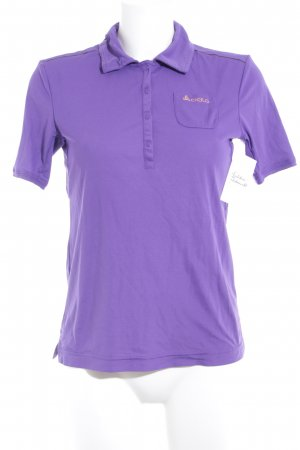 Odlo Polo-Shirt lila Casual-Look