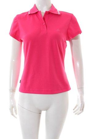 Odlo Polo-Shirt pink sportlicher Stil