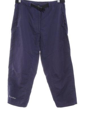 Odlo Sporthose dunkelblau sportlicher Stil