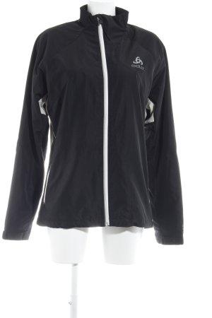Odlo Sportjack zwart-wit atletische stijl