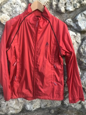 Odlo Windbreaker brick red